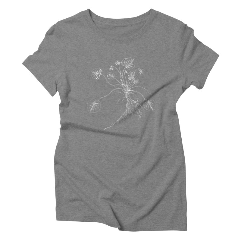 March Violet Women's Triblend T-Shirt by TeeGoo's Shop