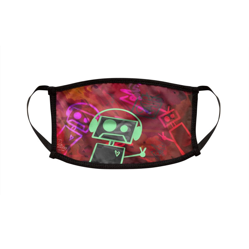 Radio-Active Accessories Face Mask by That5280Lady's Shop