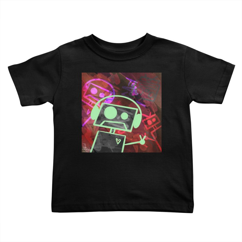 Radio-Active Kids Toddler T-Shirt by That5280Lady's Shop