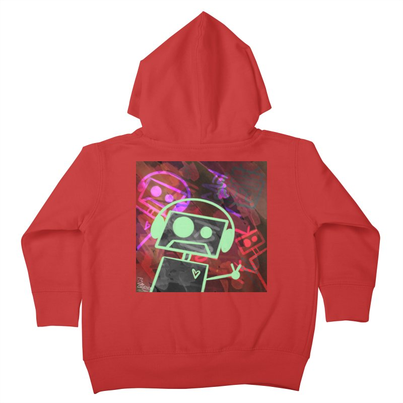 Radio-Active Kids Toddler Zip-Up Hoody by That5280Lady's Shop