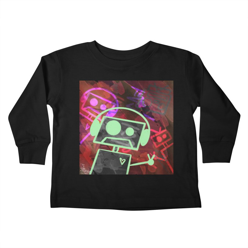 Radio-Active Kids Toddler Longsleeve T-Shirt by That5280Lady's Shop