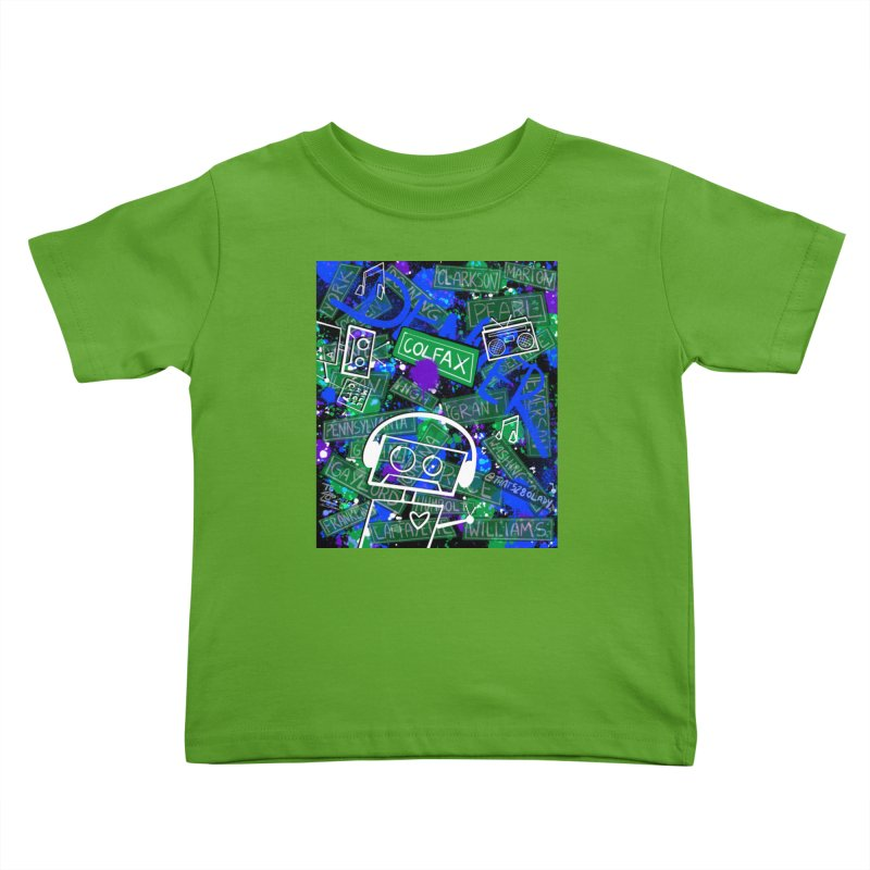 Colfax Character Kids Toddler T-Shirt by That5280Lady's Shop