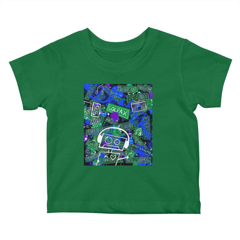Colfax Character Kids Baby T-Shirt by That5280Lady's Shop