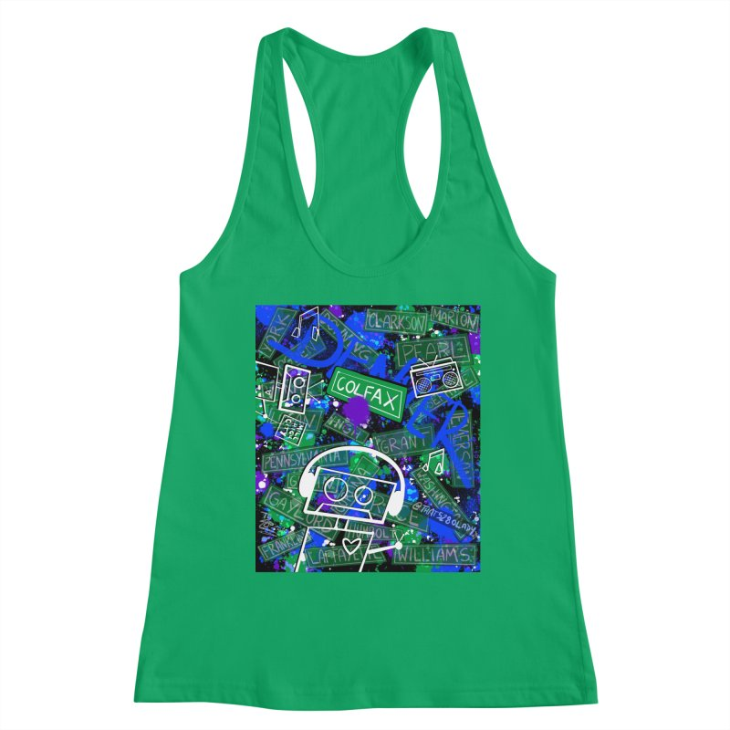 Colfax Character Women's Tank by That5280Lady's Shop
