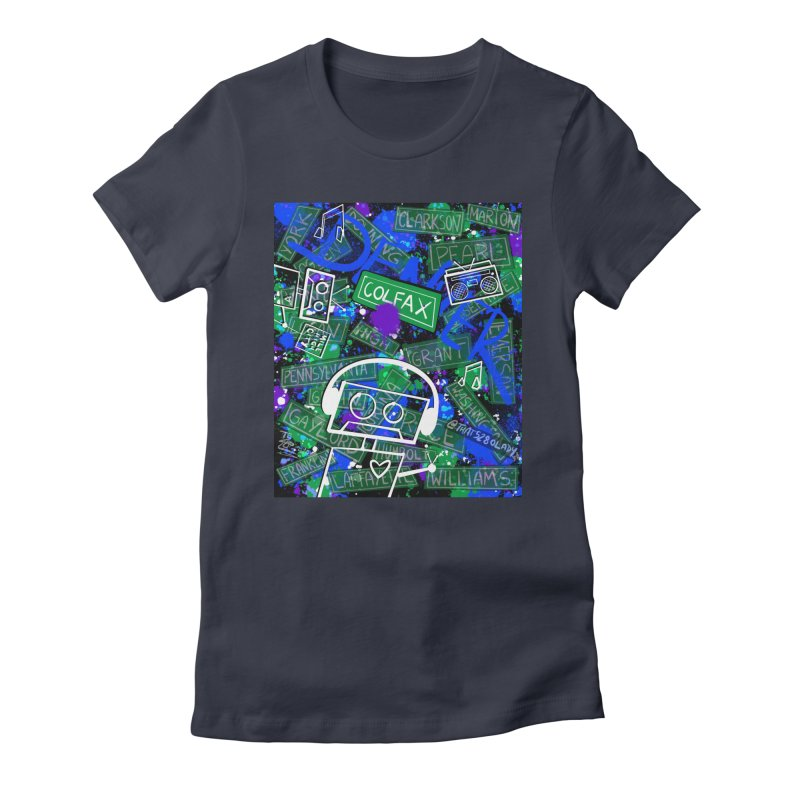 Colfax Character Women's T-Shirt by That5280Lady's Shop