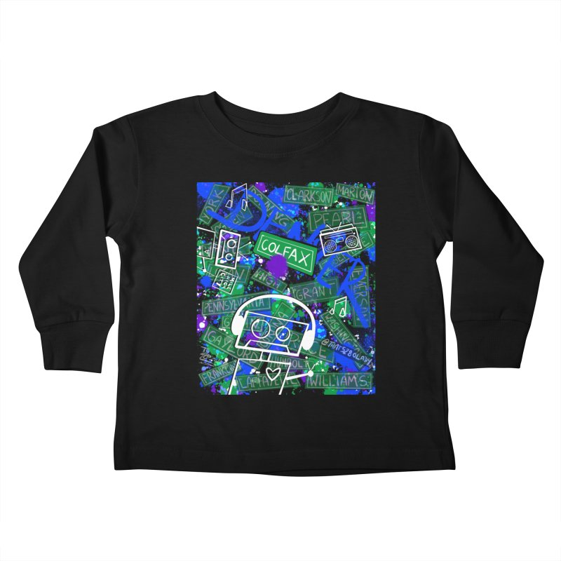 Colfax Character Kids Toddler Longsleeve T-Shirt by That5280Lady's Shop