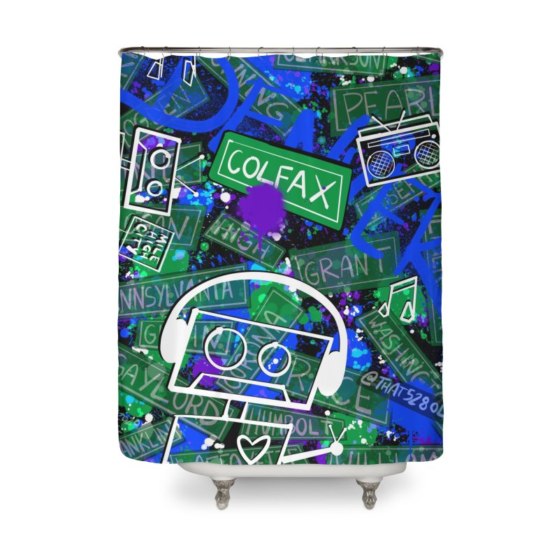Colfax Character Home Shower Curtain by That5280Lady's Shop