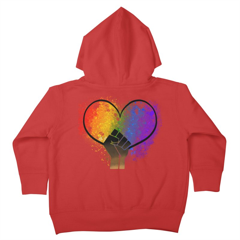Power In Love Kids Toddler Zip-Up Hoody by That5280Lady's Shop