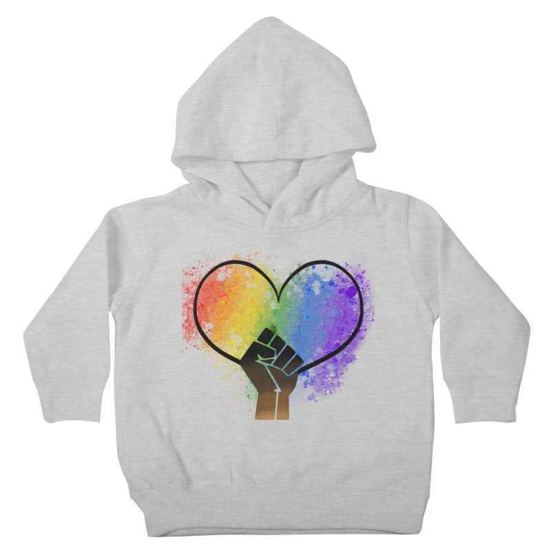 Power In Love Kids Toddler Pullover Hoody by That5280Lady's Shop