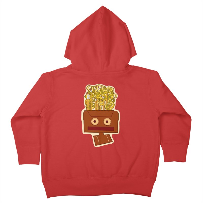 Lyrical Landscape Kids Toddler Zip-Up Hoody by That5280Lady's Shop