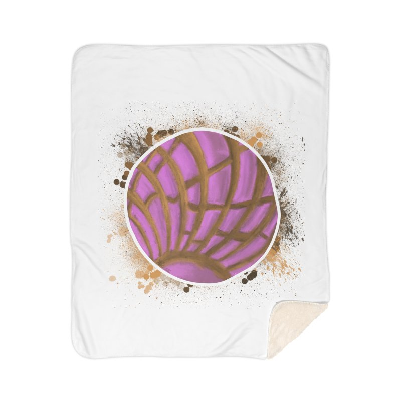 One Pink Concha Home Blanket by That5280Lady's Shop