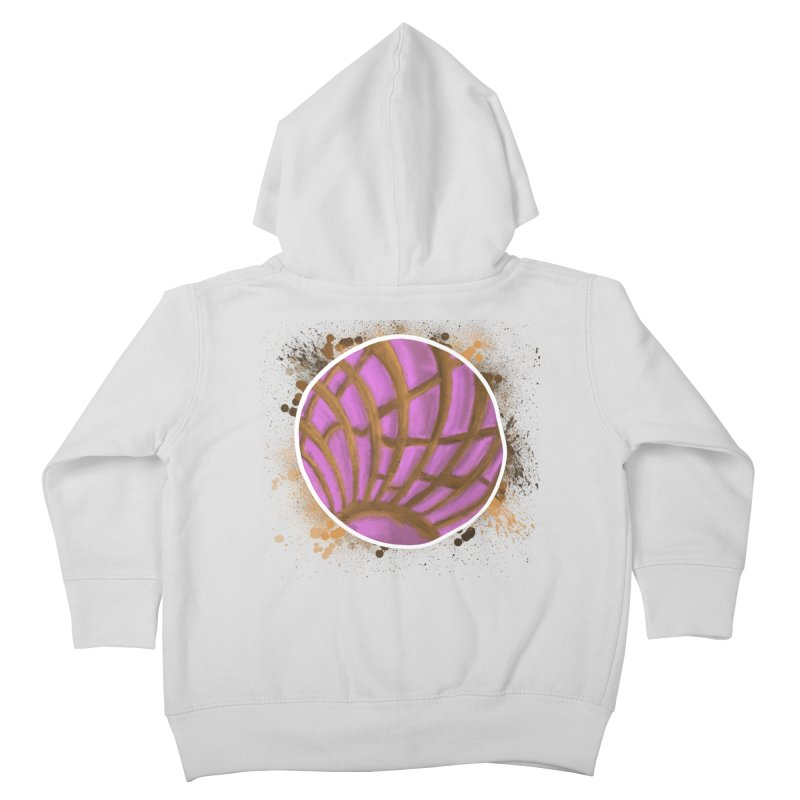One Pink Concha Kids Toddler Zip-Up Hoody by That5280Lady's Shop