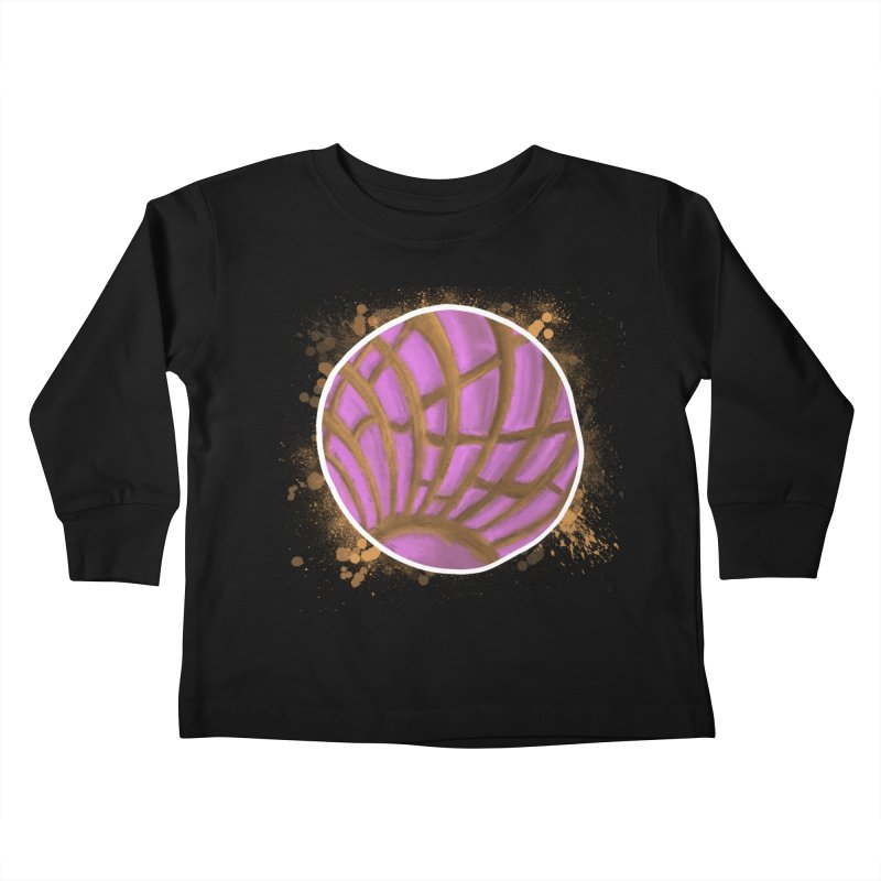 One Pink Concha Kids Toddler Longsleeve T-Shirt by That5280Lady's Shop