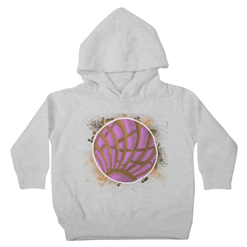 One Pink Concha Kids Toddler Pullover Hoody by That5280Lady's Shop