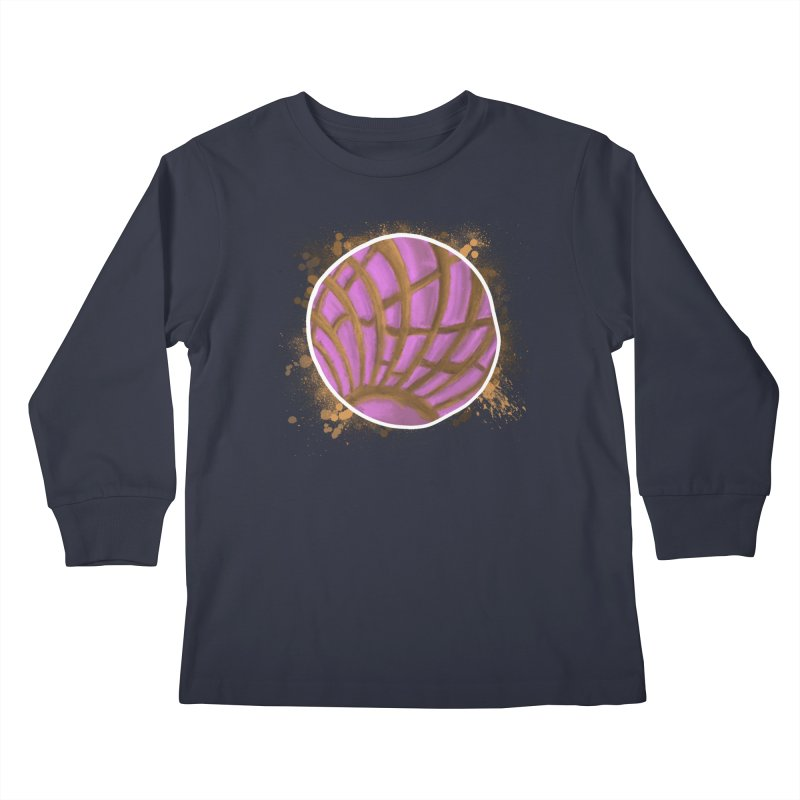 One Pink Concha Kids Longsleeve T-Shirt by That5280Lady's Shop