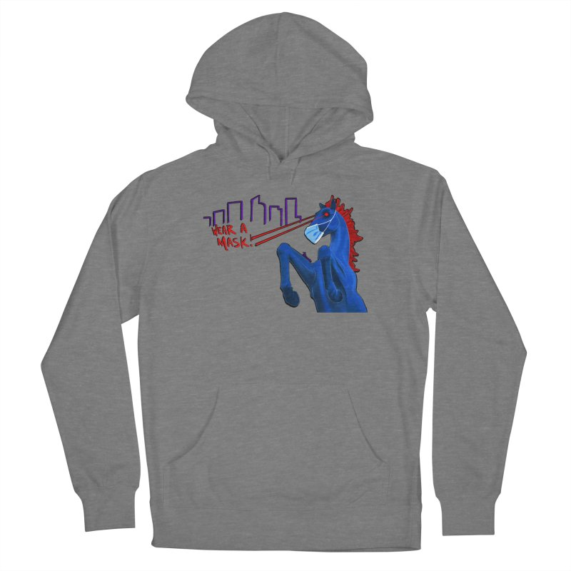 Blucifer Says Wear A Mask Women's Pullover Hoody by That5280Lady's Shop
