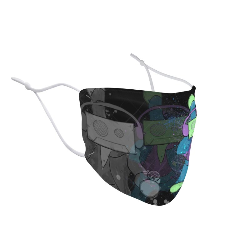 Disco Tapes Accessories Face Mask by That5280Lady's Shop