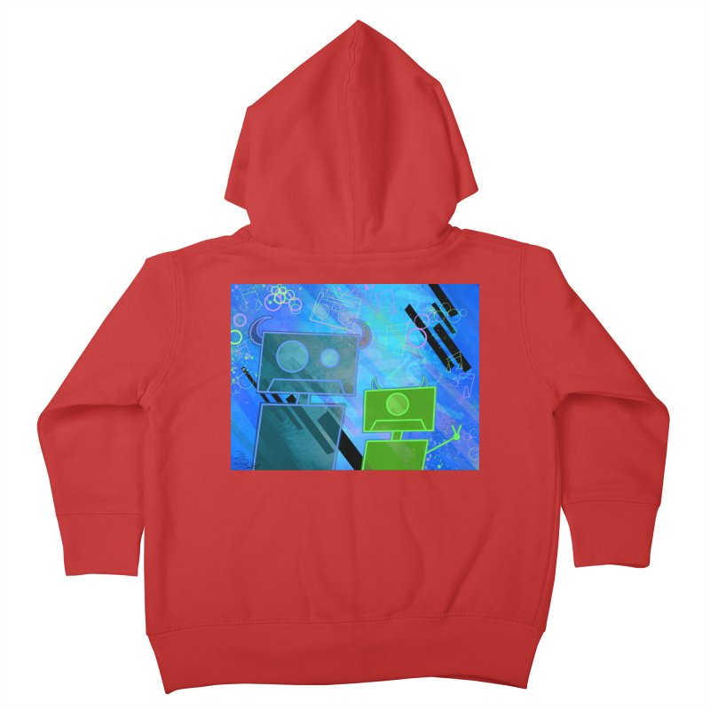 M Inc Beats Kids Toddler Zip-Up Hoody by That5280Lady's Shop