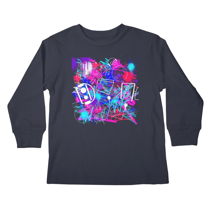 Wants To Rule The World Kids Longsleeve T-Shirt by That5280Lady's Shop