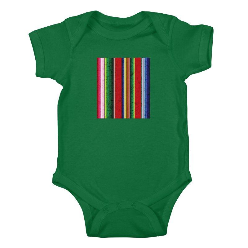 Zerape Bots Kids Baby Bodysuit by That5280Lady's Shop