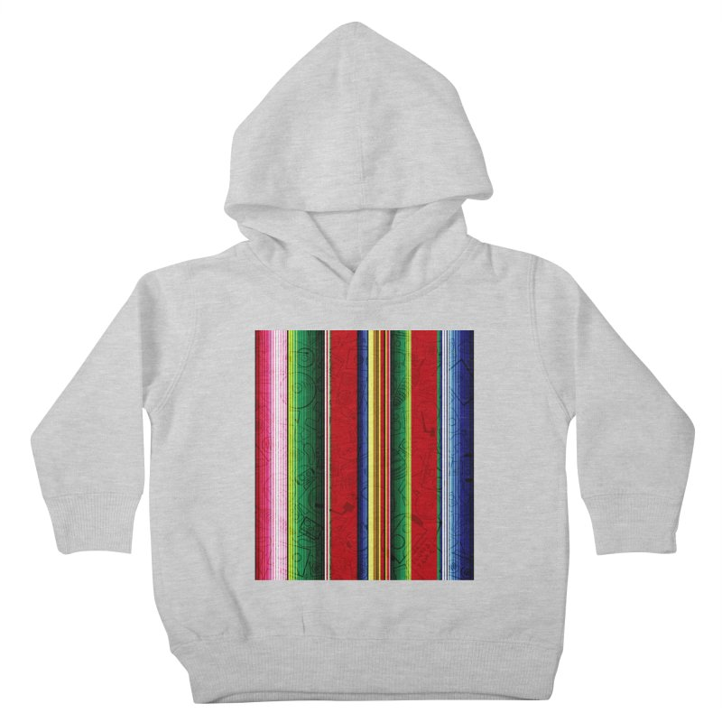 Zerape Bots Kids Toddler Pullover Hoody by That5280Lady's Shop