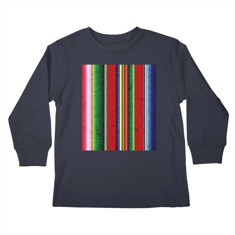 Zerape Bots Kids Longsleeve T-Shirt by That5280Lady's Shop