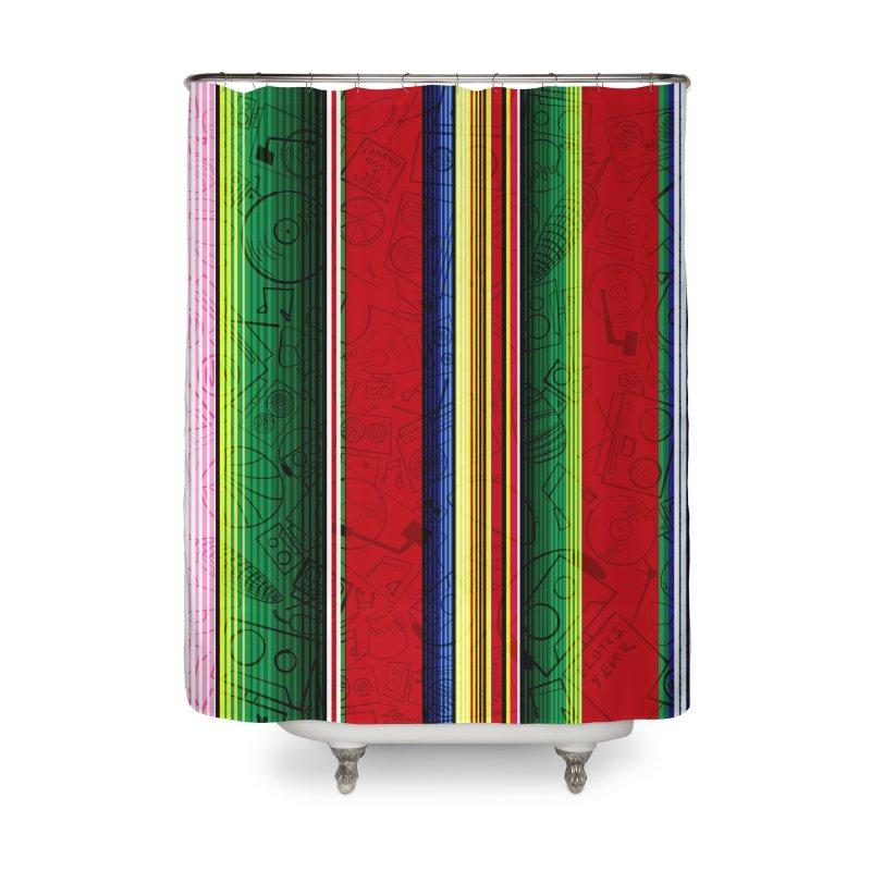 Zerape Bots Home Shower Curtain by That5280Lady's Shop
