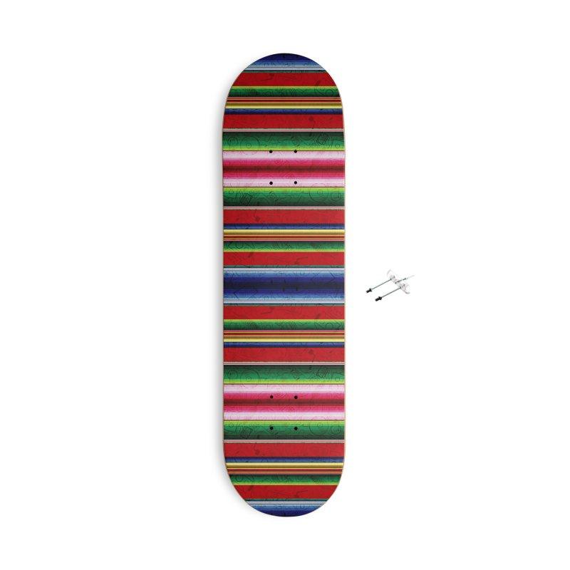 Zerape Bots Accessories Skateboard by That5280Lady's Shop