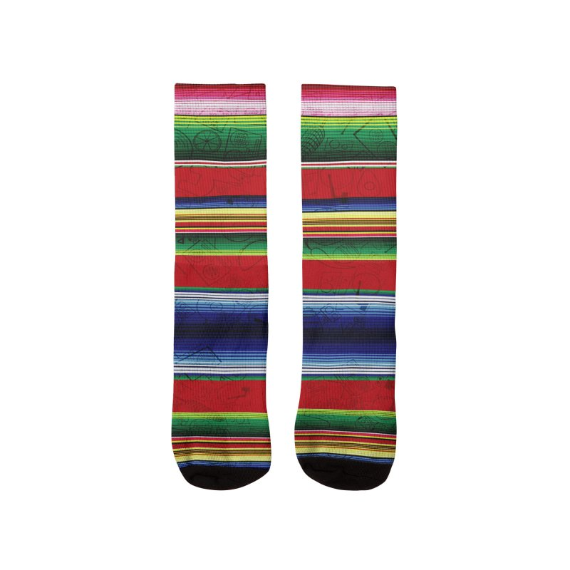 Zerape Bots Women's Socks by That5280Lady's Shop