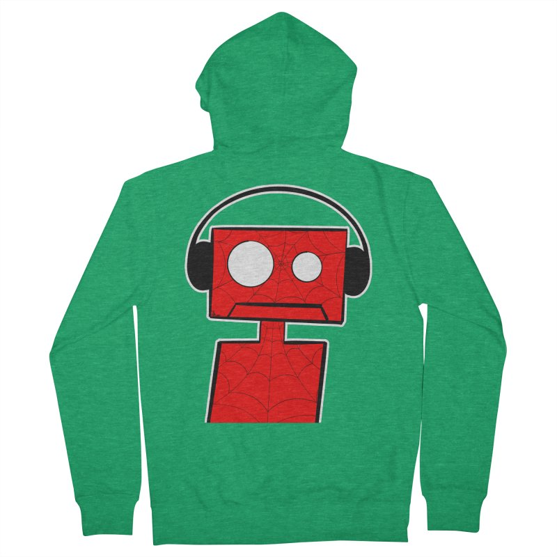 Spider Bot Men's Zip-Up Hoody by That5280Lady's Shop