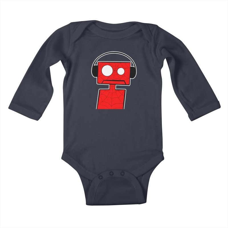 Spider Bot Kids Baby Longsleeve Bodysuit by That5280Lady's Shop