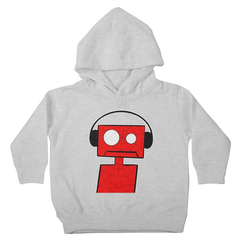 Spider Bot Kids Toddler Pullover Hoody by That5280Lady's Shop