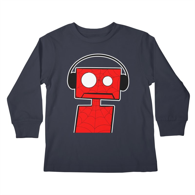 Spider Bot Kids Longsleeve T-Shirt by That5280Lady's Shop