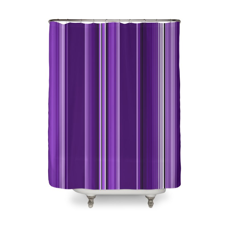 Purple Serape Home Shower Curtain by That5280Lady's Shop