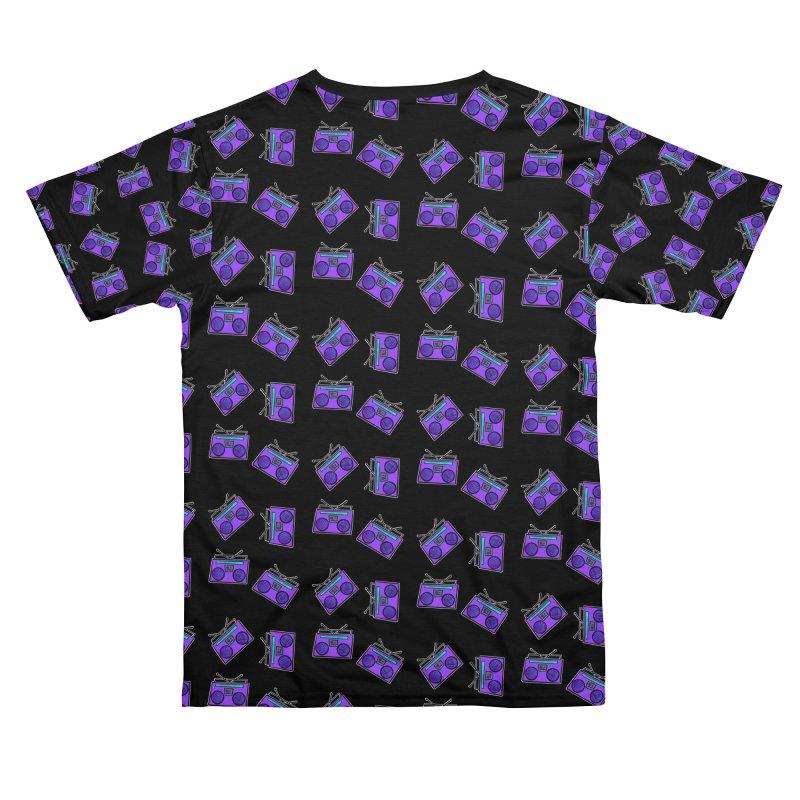 Purple Boombox Men's Cut & Sew by That5280Lady's Shop