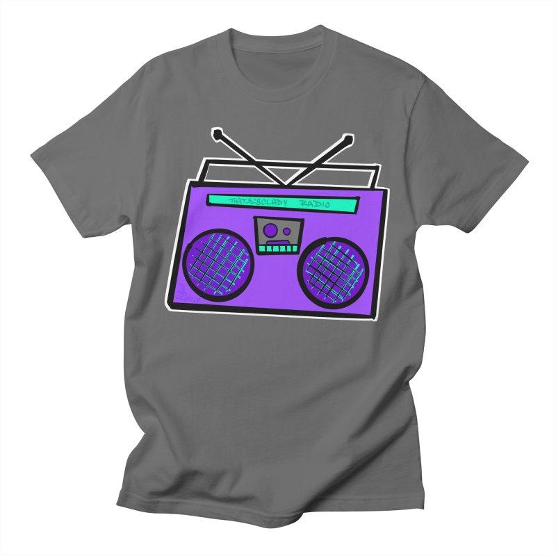 Purple Boombox Women's T-Shirt by That5280Lady's Shop