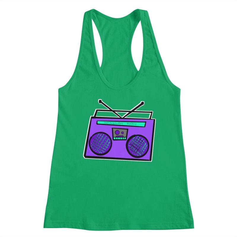 Purple Boombox Women's Tank by That5280Lady's Shop