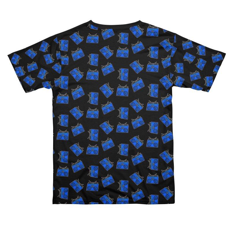 Blue Boombox Men's Cut & Sew by That5280Lady's Shop