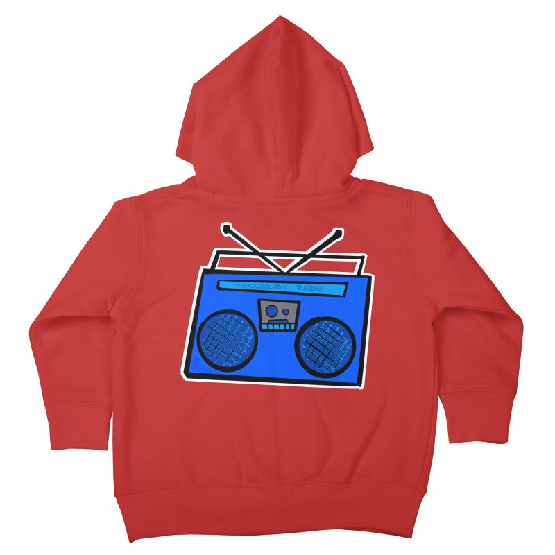 Blue Boombox Kids Toddler Zip-Up Hoody by That5280Lady's Shop