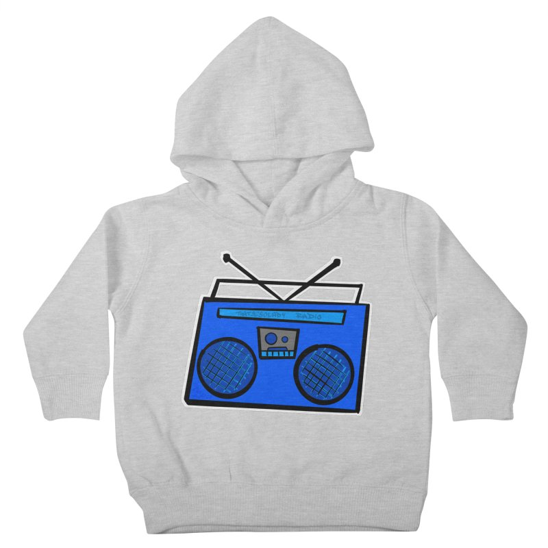Blue Boombox Kids Toddler Pullover Hoody by That5280Lady's Shop