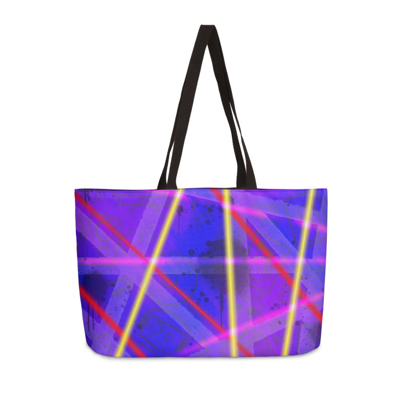 Neon Bots Accessories Bag by That5280Lady's Shop