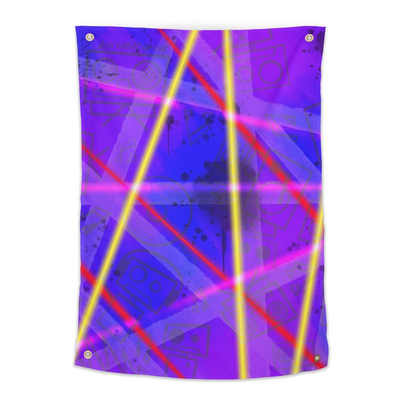 Neon Bots Home Tapestry by That5280Lady's Shop