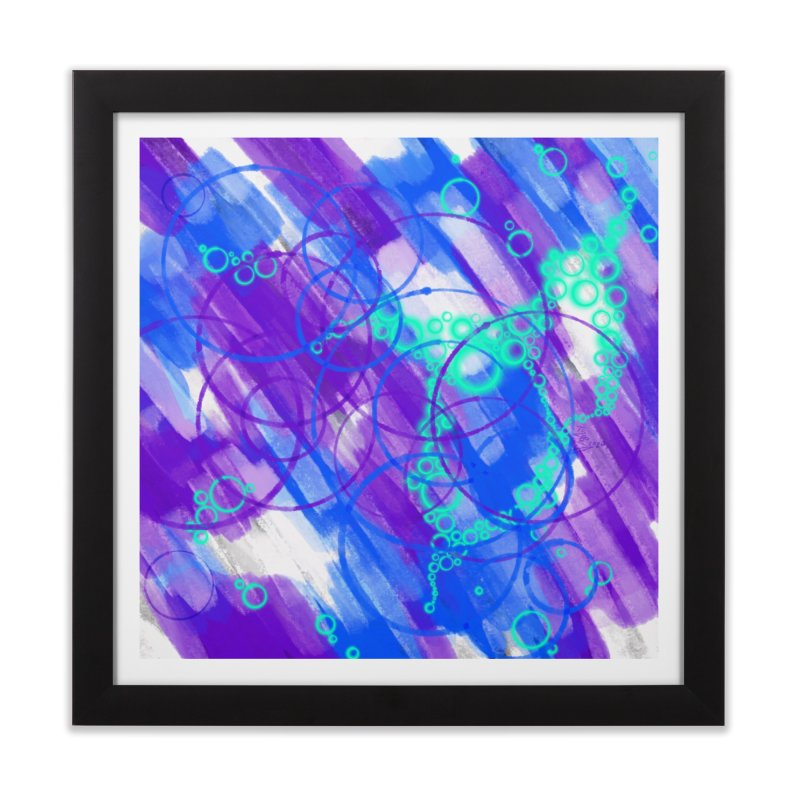 Cold City Nights Home Framed Fine Art Print by That5280Lady's Shop