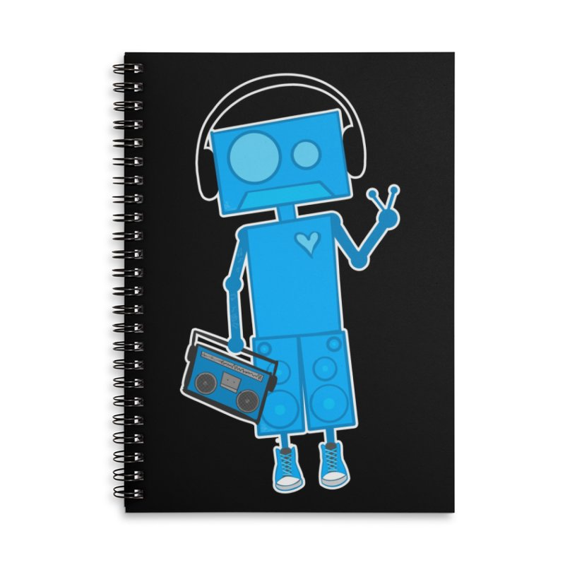 Boombot Just Chillin Accessories Notebook by That5280Lady's Shop