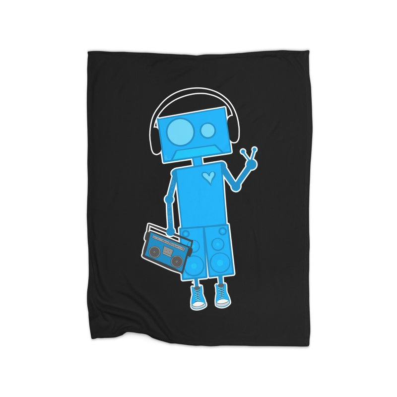 Boombot Just Chillin Home Blanket by That5280Lady's Shop