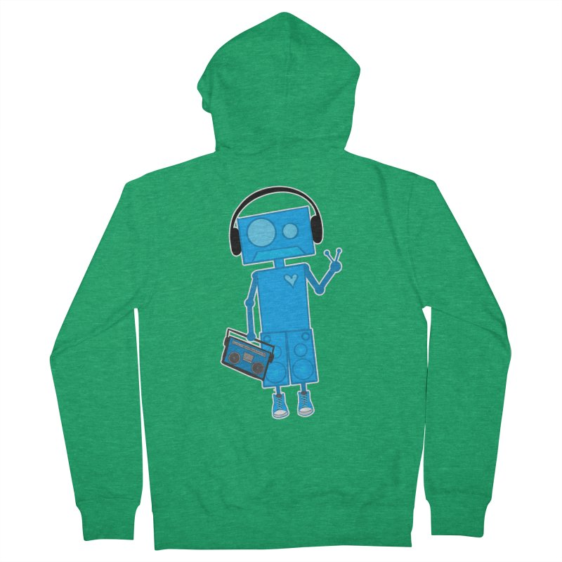 Boombot Just Chillin Men's Zip-Up Hoody by That5280Lady's Shop