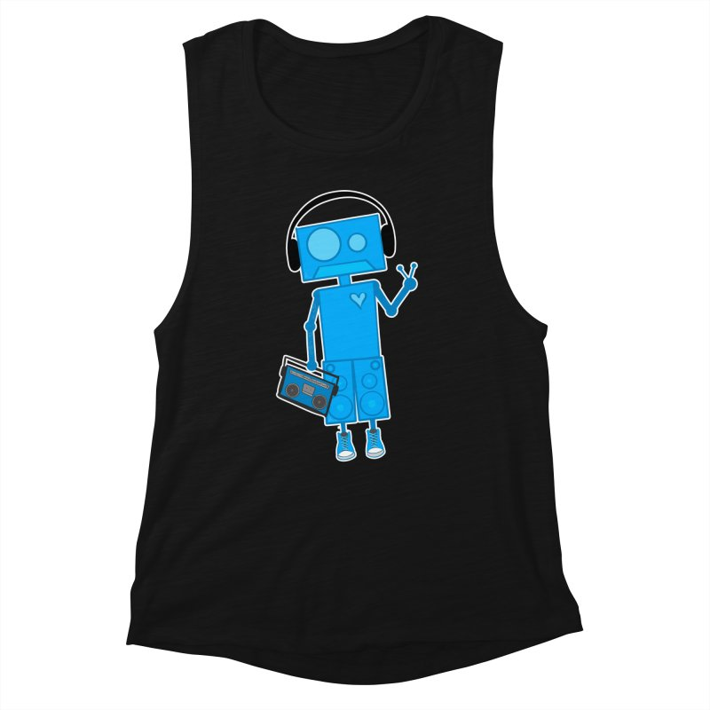 Boombot Just Chillin Women's Tank by That5280Lady's Shop