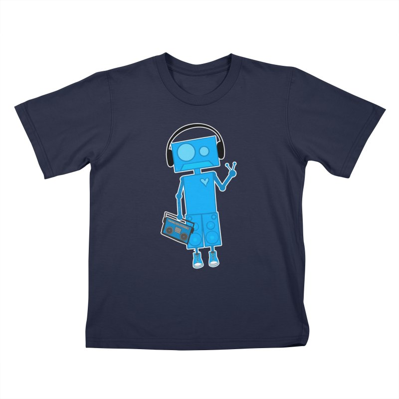 Boombot Just Chillin Kids T-Shirt by That5280Lady's Shop
