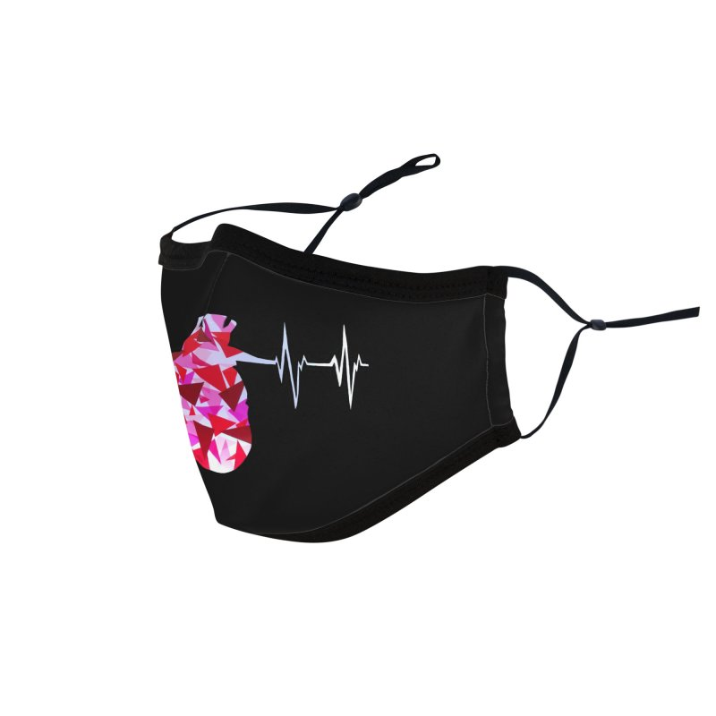 Heart Beats Accessories Face Mask by That5280Lady's Shop