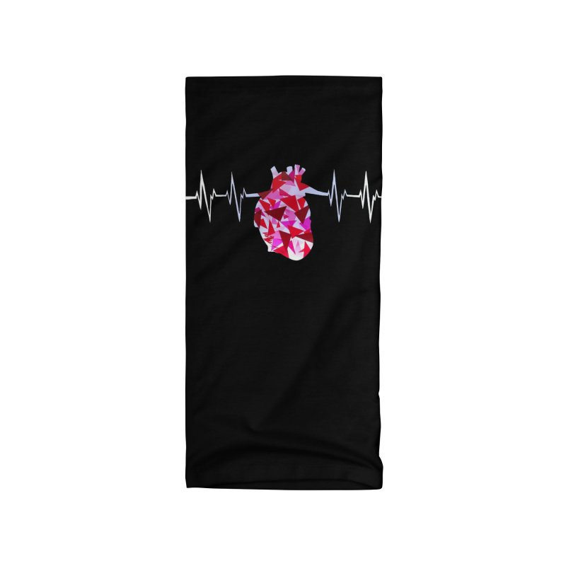 Heart Beats Accessories Neck Gaiter by That5280Lady's Shop